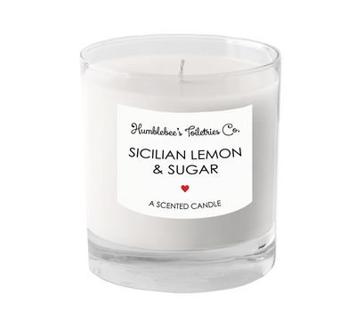 SICILIAN LEMON & SUGAR A SCENTED CANDLE