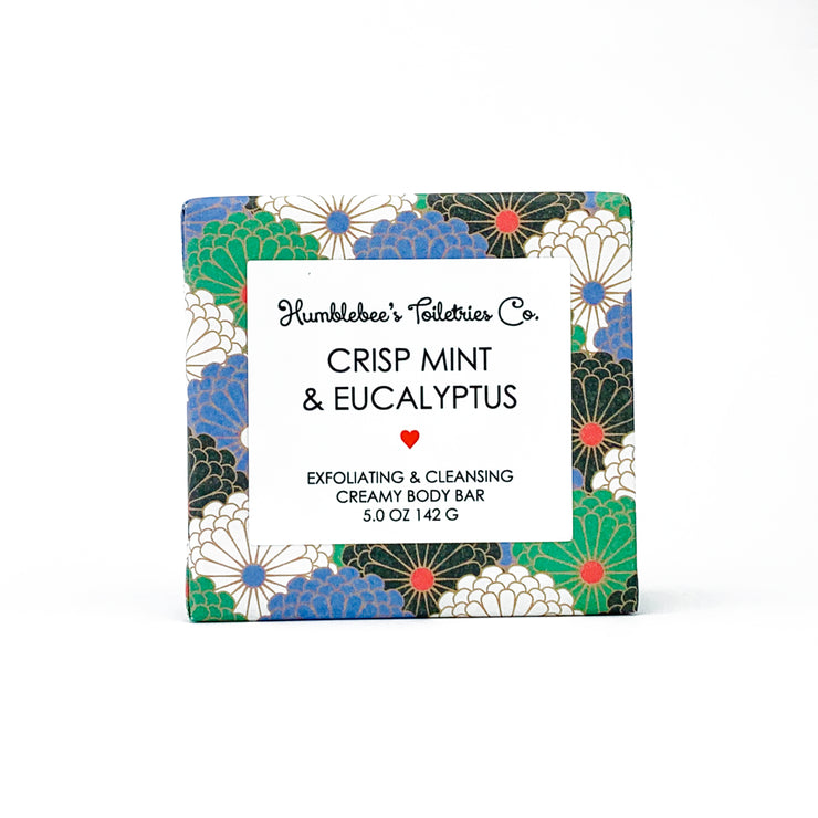 CRISP MINT & EUCALYPTUS CREAMY BODY BAR
