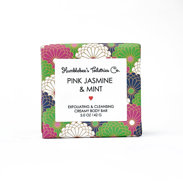 PINK JASMINE & MINT CREAMY BODY BAR