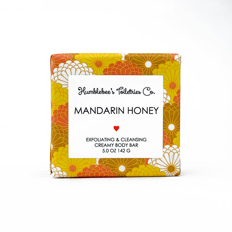 MANDARIN HONEY CREAMY BODY BAR