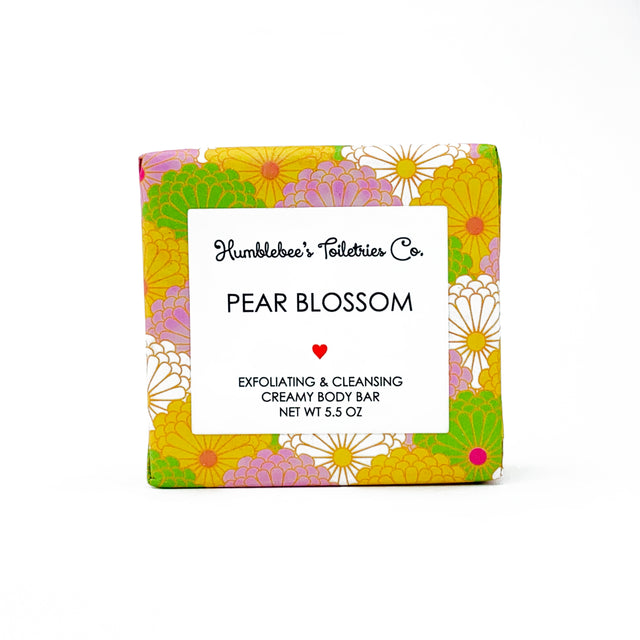PEAR BLOSSOM creamy body bar