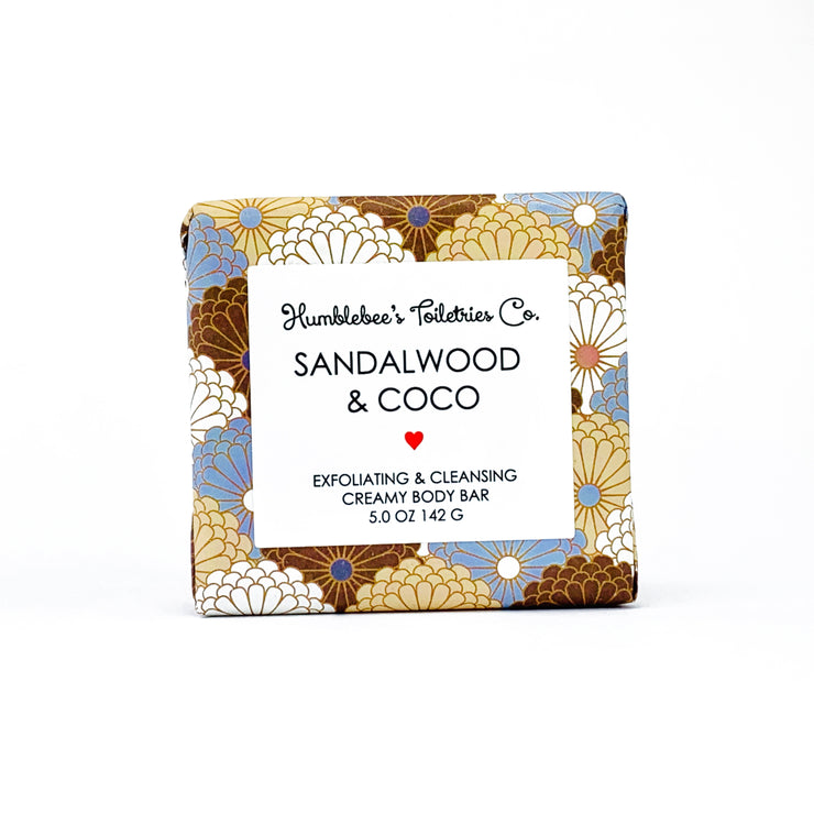 SANDALWOOD & COCO CREAMY BODY BAR