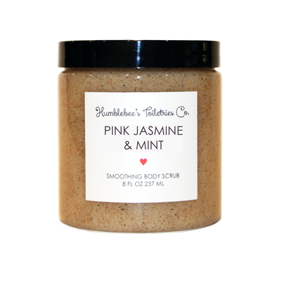 PINK JASMINE& MINT SMOOTHING BODY SCRUB