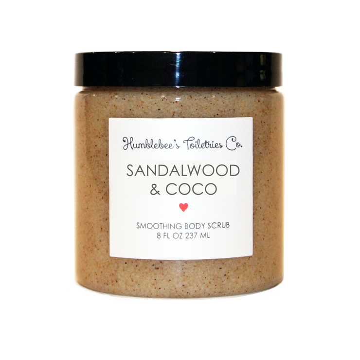 SANDALWOOD & COCO SMOOTHING BODY SCRUB