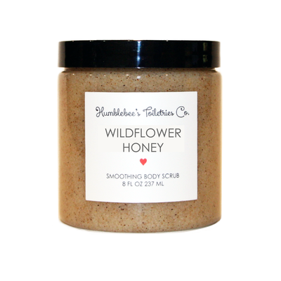 WILDFLOWER HONEY SMOOTHING BODY SCRUB