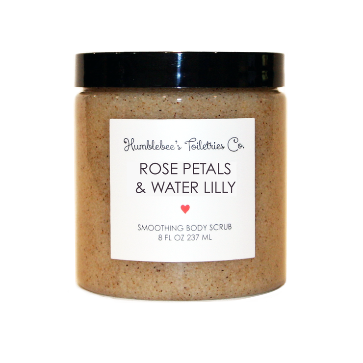 ROSE PETALS & WATER LILY SMOOTHING BODY SCRUB