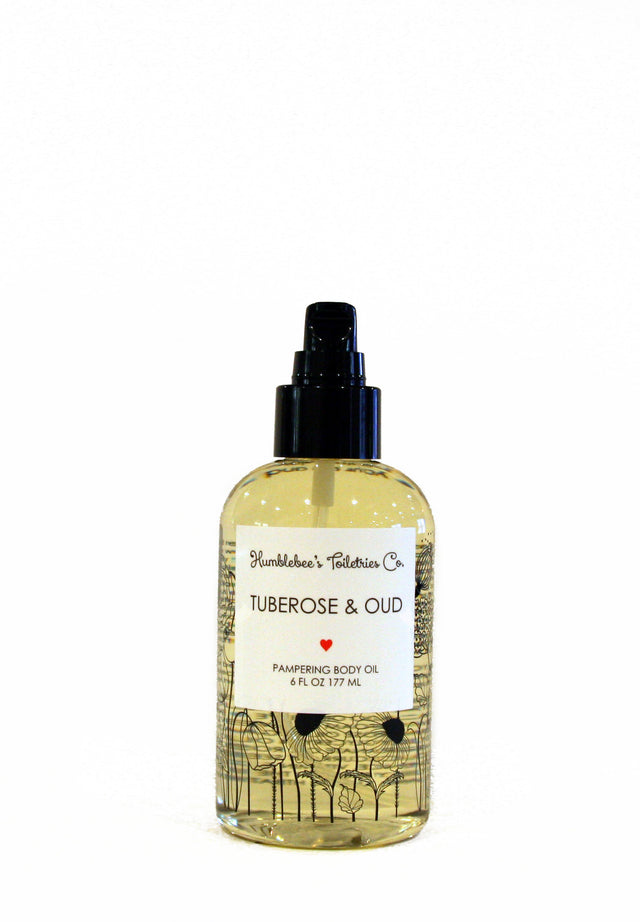 TUBEROSE & OUD BODY OIL