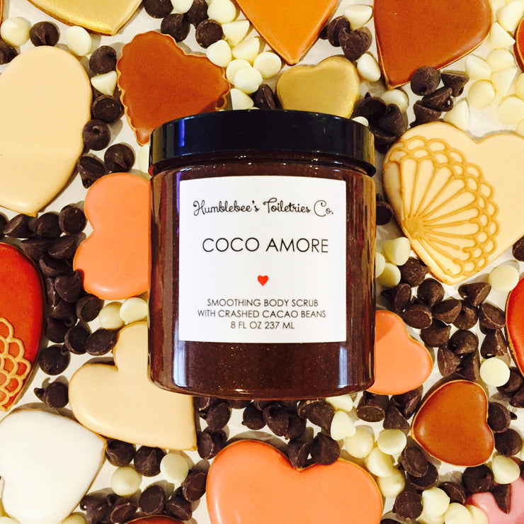 COCO AMORE SMOOTHING BODY SCRUB