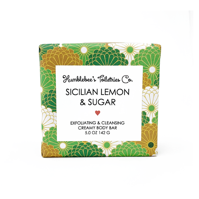 SICILIAN LEMON & SUGAR CREAMY BODY BAR