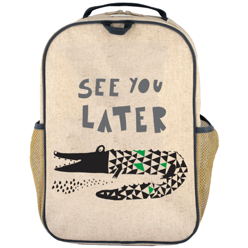School Backpack - Wee Gallery Alligator
