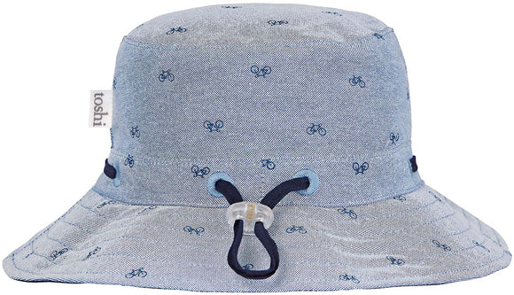Toshi Sunhat Cycling - Chambray