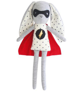 Alimrose - Toy Rattle - Super Hero Bunny 30cm