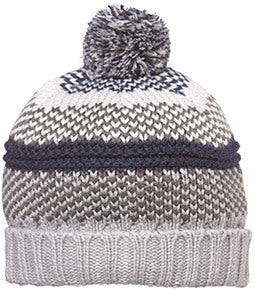 Toshi Beanie - Pirate Charcoal