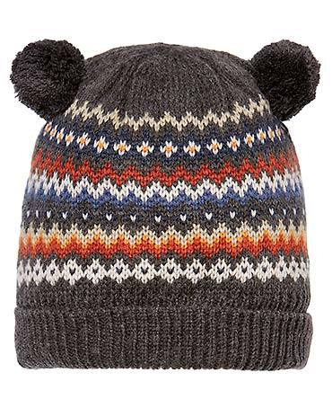 Toshi Beanie - Butternut Charcoal
