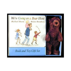 We're Going On A Bear Hunt - Board Book + Plush Toy