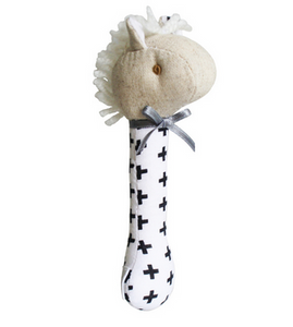 Alimrose - Stick Rattle - Horse Swiss Cross