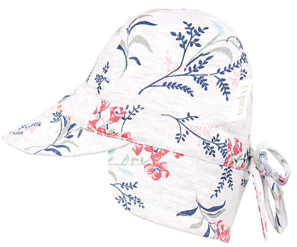Toshi Flap Cap Baby - Misty