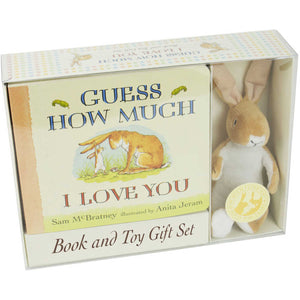 Guess How Much I Love You - Board Book + Plush Toy Set