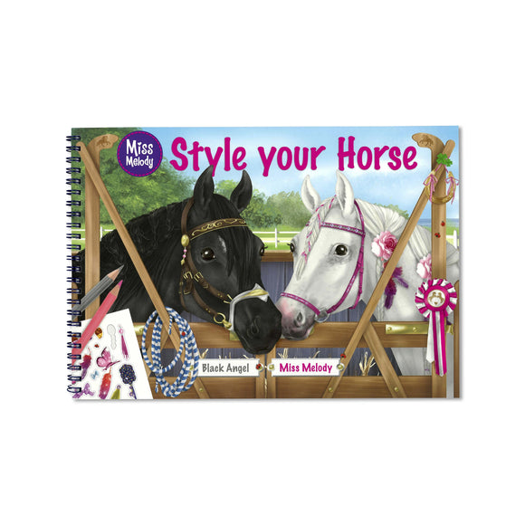 Miss Melody - Style Your Horse Colouring and Activity Book