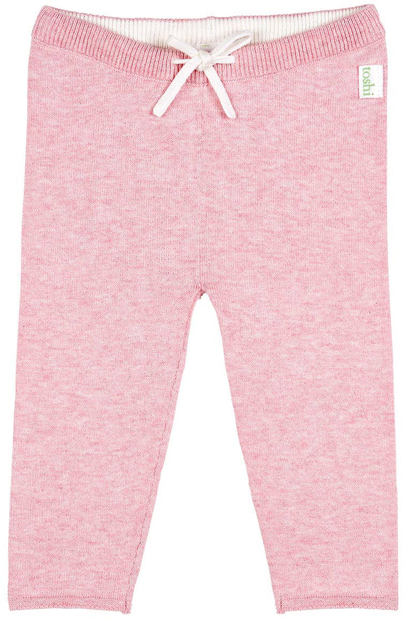 Toshi - Organic Knit Wander Leggings - Blush