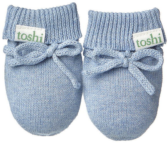 Toshi Baby Mittens - Organic Marley - Dusk