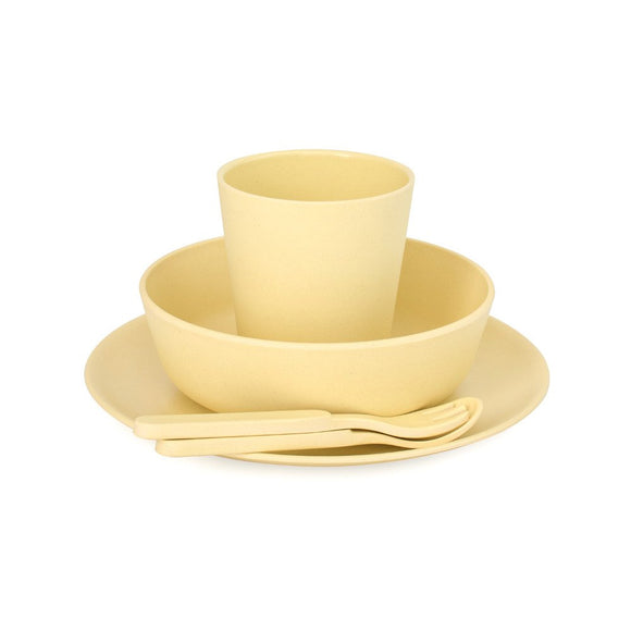 Bobo & Boo - Bamboo Dinner Set - Sunshine