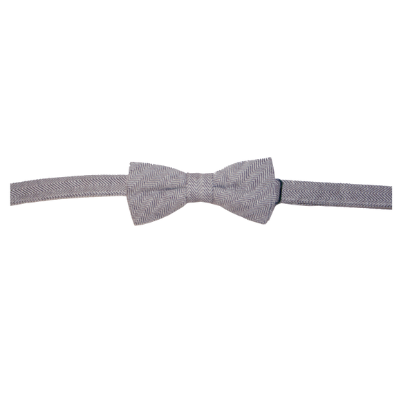 Love Henry - Bow Tie - Brown Herringbone