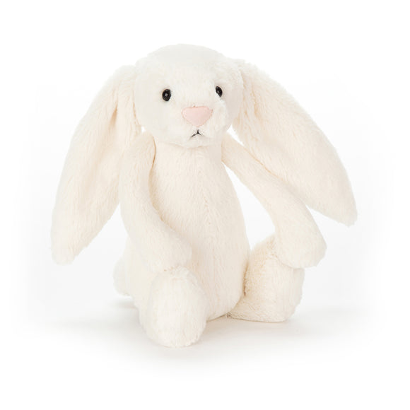Jellycat - Bashful Chime Bunny Rattle - Cream