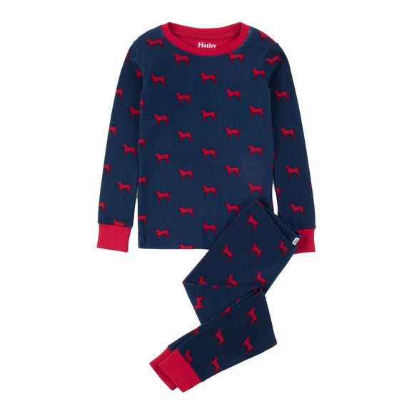 Hatley - Pj's - Red Labs
