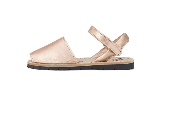 ViLa - Rose Gold Leather Sandal