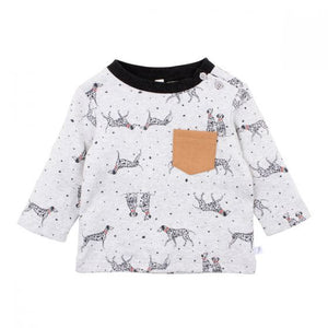 Fox & Finch -Spot Pocket Tee