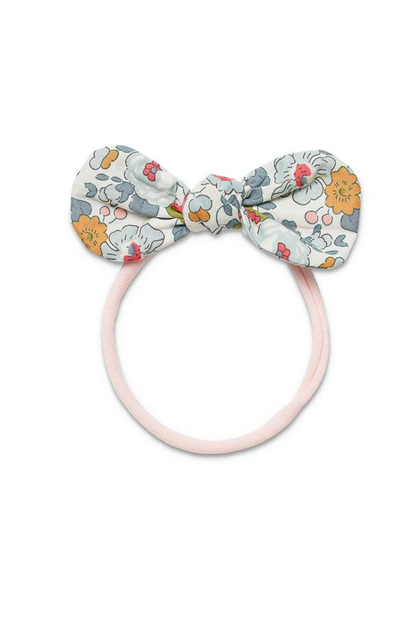 Pretty WIld Kids - Anna Bow Nylon Headband - Powder Blue
