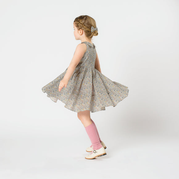 Pretty WIld Kids - Maria Dress - Katie & Millie Print