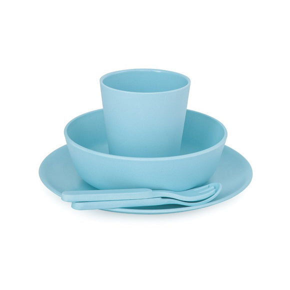 Bobo & Boo - Bamboo Dinner Set - Pacific