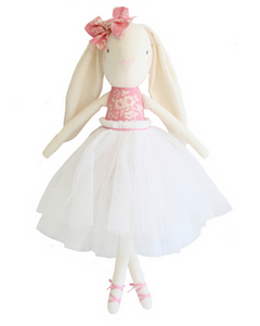 Bronte Ballet Bunny - Pink & Ivory