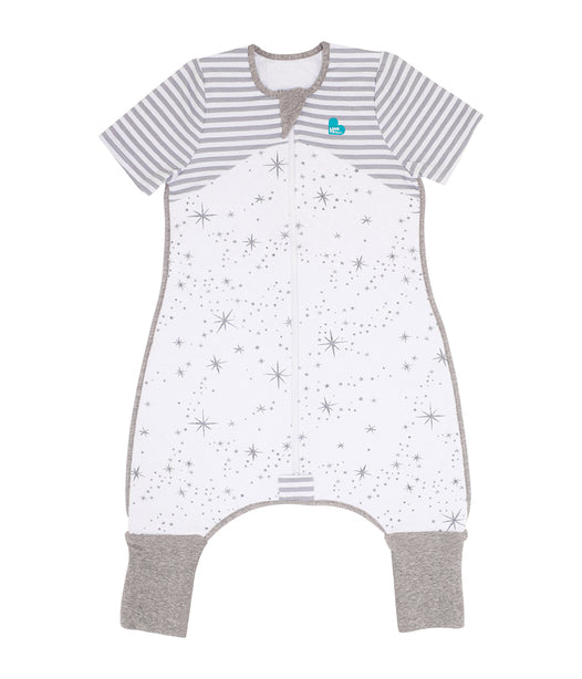 Love to Dream - Sleep Suit 1 TOG - White/Grey