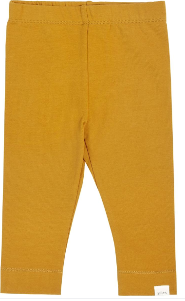 Miles Baby - Gold French Leggings
