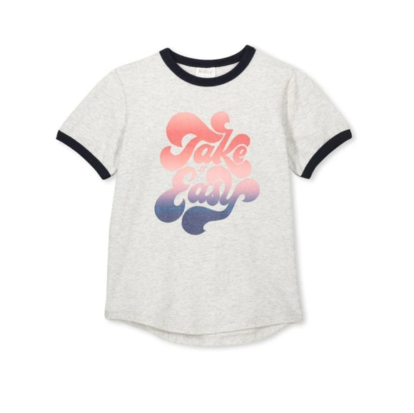 Milky - Take It Easy Tee - Silver Marle
