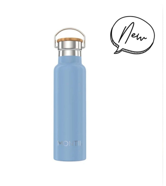 MontiiCo - Insulated Drink Bottles - 600ml - Slate