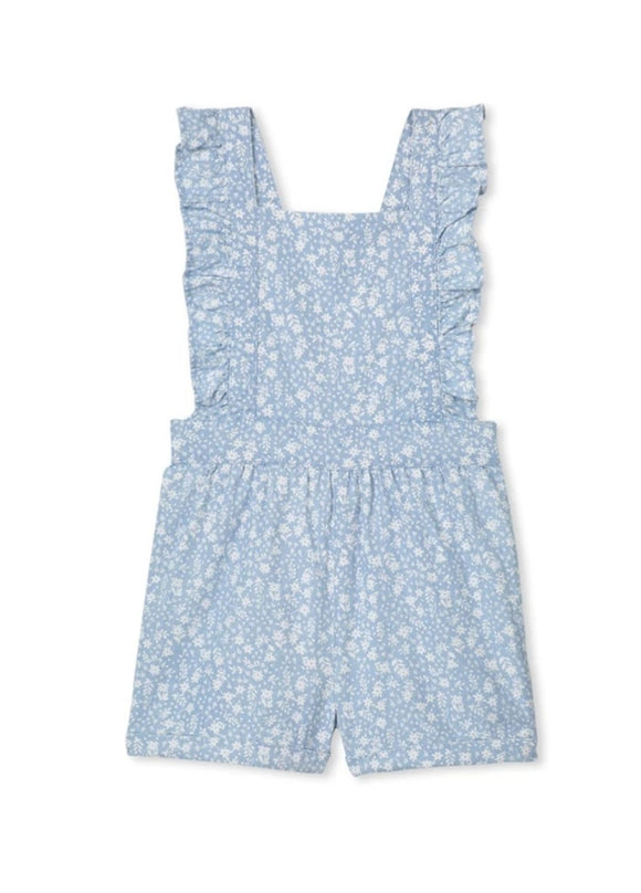 Milky - Denim Playsuit - Chambray