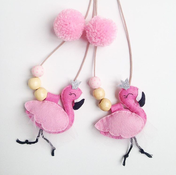 Cherished Flamingo Necklace