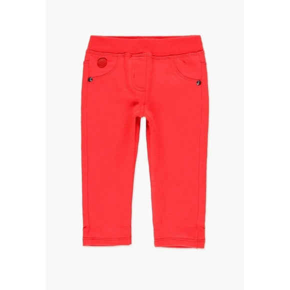 Boboli - Fleecy Stretch Leggings - Red