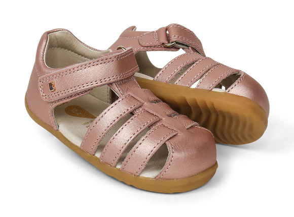 Bobux - Step Up - Jump Sandal - Rose Gold