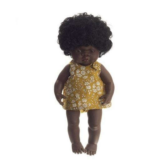 Pretty Wild Kids - Irene Two Piece Dolls Clothes - Mustard Capel