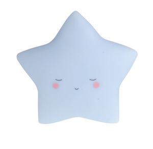 Dream Little Night Light - Star - Blue