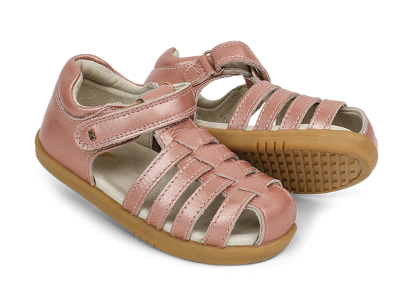 Bobux - I Walk - Jump Sandal - Rose Gold