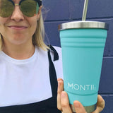 MontiiCo - Smoothie Cup - Teal