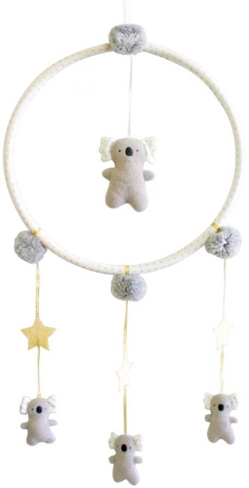 Alimrose - Whimsy Koala Grey - Mobile