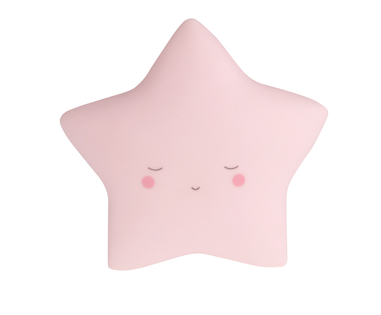 Dream Little Night Light - Star - Pink