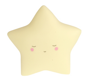 Dream Little Night Light - Star - Yellow